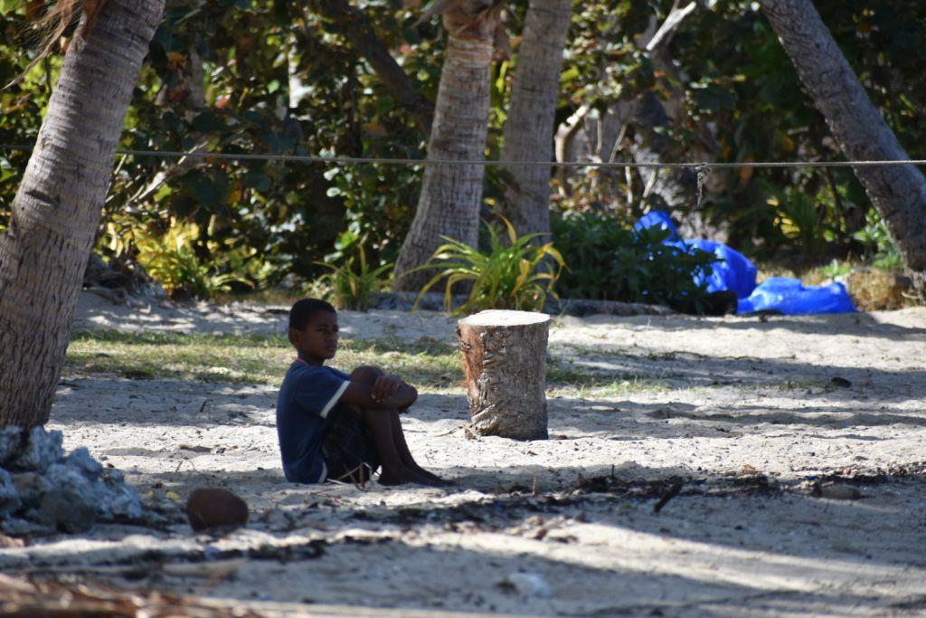 boy at Soso beach