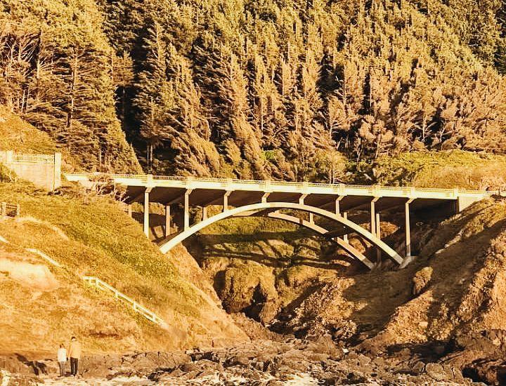 Bridge above Spouting Horn