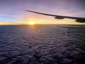 Maldives Emirates Flight