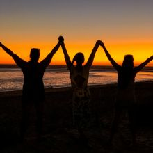 Rota Sunset with friends