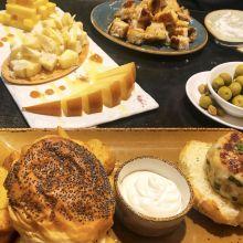 Cheese Plate, Burger, Tapas