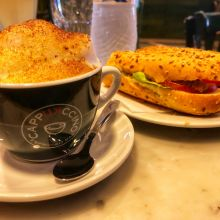 Coffee, Sandwich