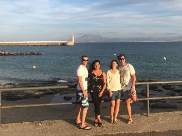 With Friends In Tarifa Morocco Views
