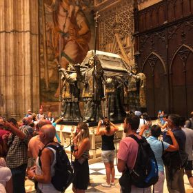 Christopher Columbus Tomb Seville Cathedral