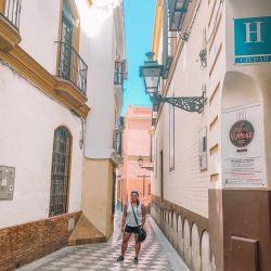 Narrow Streets Of Seville Spain