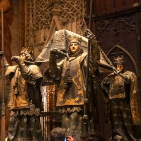 Seville Cathedral Christopher Columbus Tomb