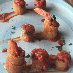 Spain Tapas Shrimp